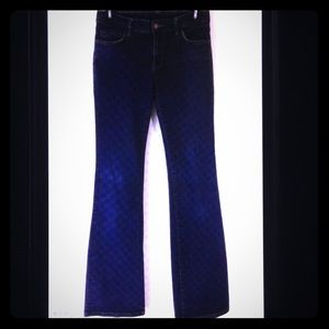 Club Monaco Denim Boot Cut Leg Zip Fly Jeans